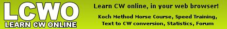 Learn CW Online by Fabian Kurz, DJ1YFK
