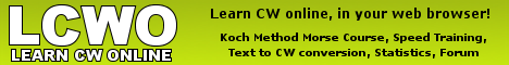 LCWO - Learn CW online